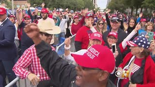 Packed House For Trump-Cruz Rally In Houston