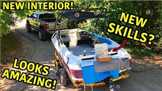 This is more difficult than we thought!!! Picking up on some new skills is something we are never afraid to do. Rebuilding this super cheap wrecked boat was the perfect opportunity as well. This boat will be transformed before you know it. Stay tuned and follow along to see what happens!!! Thanks For Watching!!!  -GOONZQUAD NEW MERCH!!!:  https://goonzquad.com -Instagram: https://www.instagram.com/goonzquad/ -Email: goonzquadteam@gmail.com -P.O. Box 37  Rossville,GA 30741  MUSIC CREDITS:Still Back by ZAYFALL https://soundcloud.com/zayfallmusic Creative Commons — Attribution 3.0 Unported  — CC BY 3.0  Free Download / Stream: http://bit.ly/2QJ2XY0  Music promoted by Audio Library https://youtu.be/bkRr409ghOQ  Spiral by KV https://soundcloud.com/kvmusicprod Creative Commons — Attribution 3.0 Unported  — CC BY 3.0  Free Download / Stream: http://bit.ly/Spiral-KV Music promoted by Audio Library https://youtu.be/aFVuHUfcV60  Song: Nekzlo - A Clear Horizon (Vlog No Copyright Music) Music promoted by Vlog No Copyright Music. Video Link: https://youtu.be/BuAIhEA_SWo  LiQWYD - You (Vlog No Copyright Music) Music provided by Vlog No Copyright Music. Video Link: https://youtu.be/aQt1soUa4J8  Song: Song: Nekzlo -  Palm Shadows (Vlog No Copyright Music) Music promoted by Vlog No Copyright Music. Video Link: https://youtu.be/NjaN0uA0LjQ  Song: Nekzlo - A Clear Horizon (Vlog No Copyright Music) Music promoted by Vlog No Copyright Music. Video Link: https://youtu.be/BuAIhEA_SWo  Oshóva - Moody Swing (Vlog No Copyright Music) Music provided by Vlog No Copyright Music. Video Link: https://youtu.be/SrqldpJl5_4  Morning by LiQWYD https://soundcloud.com/liqwyd Creative Commons — Attribution 3.0 Unported  — CC BY 3.0   Song: MBB - Sax (Vlog No Copyright Music) Music provided by Vlog No Copyright Music. Video Link: https://youtu.be/DFdn-dDtQp8  Finally by Loxbeats https://soundcloud.com/loxbeats Creative Commons — Attribution 3.0 Unported  — CC BY 3.0  Free Download: http://bit.ly/FinallyL