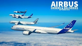 Airbus ORDERS & DELIVERIES Recap | September 2018