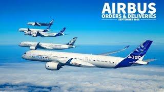Airbus Orders Amp Deliveries Recap September 2018