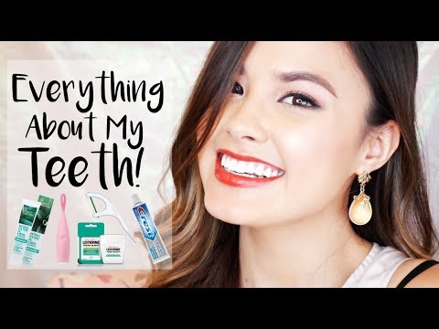 All About My Teeth | My Oral Hygiene Routine and Teeth Whitening ft. ISSA Play!