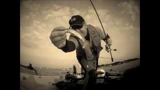 preview picture of video 'bass fishing poole team waistline 2014'