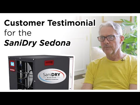 Customer Testimonial for Basement Dehumidifier
