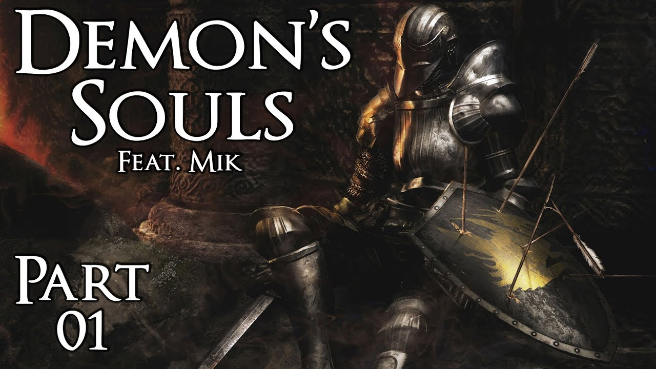 Demon's Souls (feat. Mik) – Part 1: Tutorial und Phalanx (1-1)