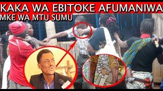 KAKA WA EBITOKE KITENGE COMEDIAN APOKEA KICHAPO KIKALI// AFUMANIWA NA BEYONCE WA BUZA..