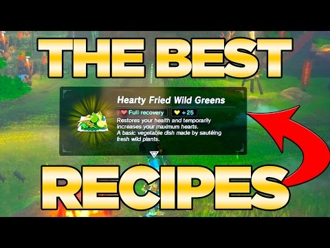 Video THE BEST Recipes GUIDE in Breath of the Wild - Best Dishes Cooked| Austin John Plays