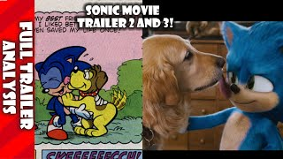 New Sonic  Movie Trailers Full Analysis and All Easter Eggs