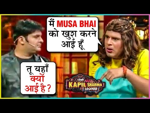 Kapil Sharma Krushna Abhishek HILARIOUS Comedy With Sanjay Dutt | The Kapil Sharma Show