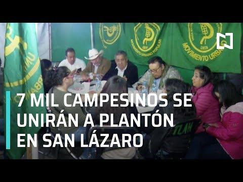 Plantón en Cámara de Diputados: Se unirán 7 Mil campesinos - Las Noticias con Claudio Ochoa