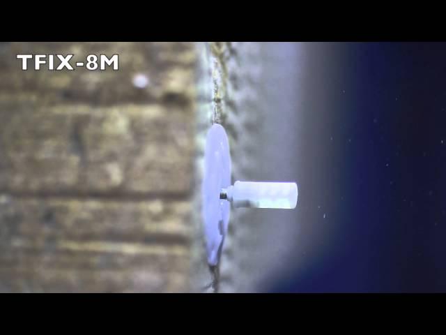 TFIX 8M Siltumizolācijas stiprināšanas dībelis ar metāla naglu un uzkausēto galvu.