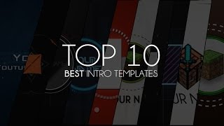 Top 10 Best Intro Templates of 2013