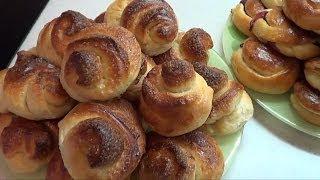 Смотреть онлайн Рецепт теста для булочек в хлебопечке