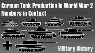 German tank production in World War 2