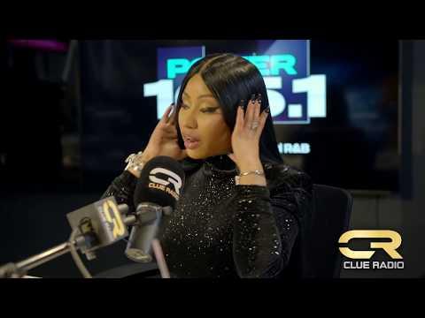 Nicki Minaj Talks New Album #Queen With DJ Clue