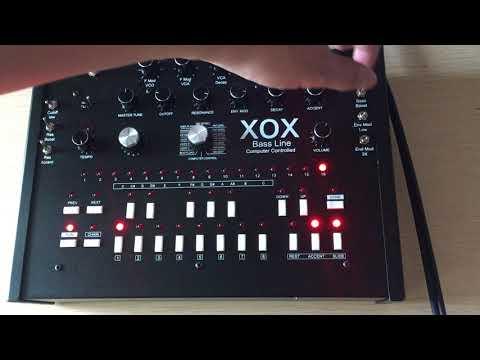 x0xb0x xoxbox Overdrive & muffler distort tb-303 clone