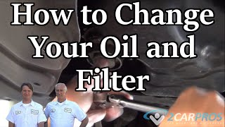 Oil Change and Filter Toyota Rav4 3.5 V6