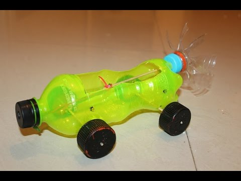 How To Make a Car - Powered Car - Very Simple | Basu Creation
