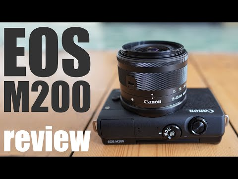 External Review Video tyl5NqGVxw4 for Canon EOS M200 APS-C Mirrorless Camera