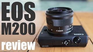 Canon EOS M200 review: best BUDGET mirrorless for beginners!