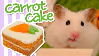 🥕 Carrot Cake | HAMSTER KITCHEN 🥕