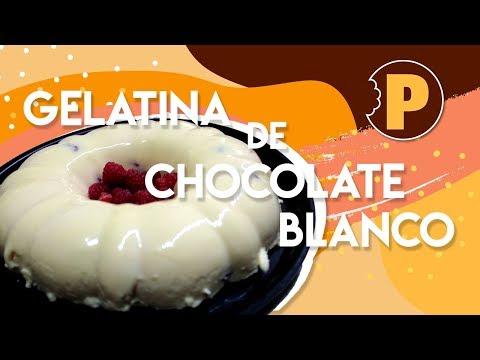 Gelatina de Chocolate Blanco