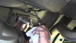 Fuel Filter Replacement Ford Mustang