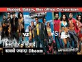 DHOOM Franchise COMPARISON: Budget | Box office collection | Dhoom series ACTORS SALARY ?