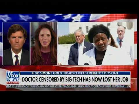 Dr. fired from hospital after 'White Coat Summit' supporting COVID drug