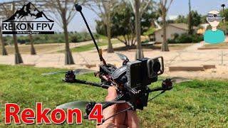 RekonFPV Rekon 4 - Setup, Review & Flight Footage