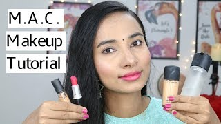 MAC Makeup Tutorial for Indian Skin in Hindi | Sneha Sen Indian Beauty Blogger