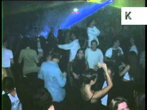 Clubbing at 1990s Ministry of Sound Nightclub, London