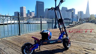 VSETT 11+ Electric Scooter Rides San Francisco For the 1st Time! | Gopro Hero RAW FPV Footage