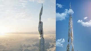 The Jetsons: This 3D Printed & 4.8 KM Tall Skyscraper Can Be The World