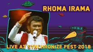 Rhoma Irama Live At Synchronize Fest 2018