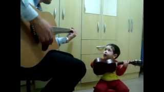 "2 year old sings ""Do not Let Me Down""   by The Beatles"