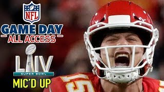 "Super Bowl LIV Mic'd Up, ""I'm a BEAST down here... HIT ME!"" 
