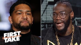I'm going to 'massacre' Dominic Breazeale - Deontay Wilder | First Take