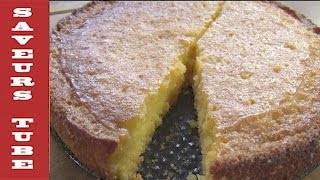 """How to make a Polenta lemon cake """"Gluten Free"""" with The French Baker TV Chef Julien from Saveurs"""
