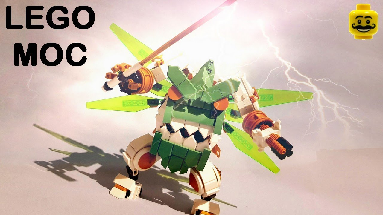LEGO Ninjago 70676 Lloyd's Titan Mech Alternate Build Gurren Lagann