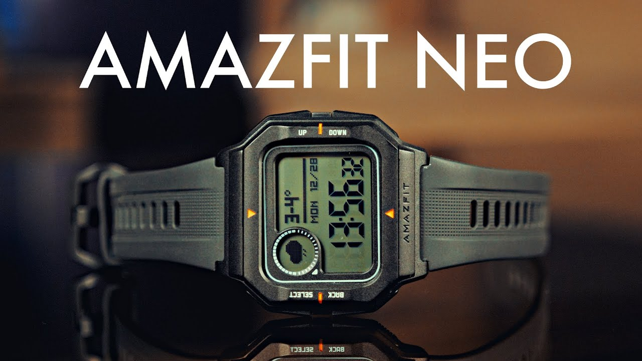 Смарт-часы Amazfit NEO (Red) A2001 video preview