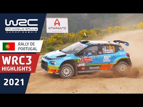 WRC3のDay2ハイライト動画 WRC 2021 第4戦ラリー・ポルトガル