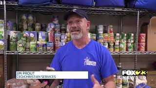 Officials with food pantries say organizations need donations