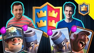 DOUBLE MORTAR BAIT WITH THE CHAMP! OXALATE!!!!! - Clash Royale