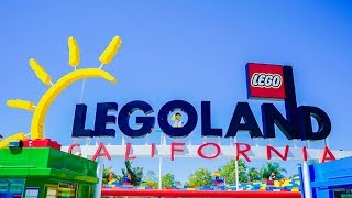 FIRST TIME AT LEGOLAND CALIFORNIA   VLOG