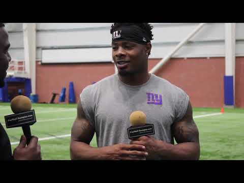Football Gameplan's 2019 New York Giants OTA Interview: Corey Coleman
