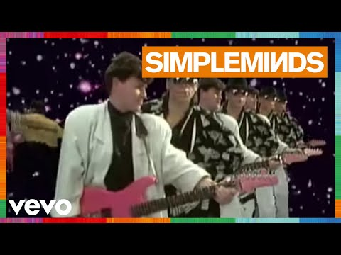 Simple Minds - All The Things She Said (Official Video)