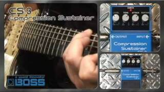 Boss CS-3 Compression Sustainer Video