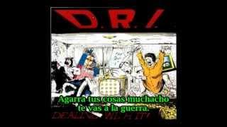 D.R.I. I Don't Need Society (subtitulado español)