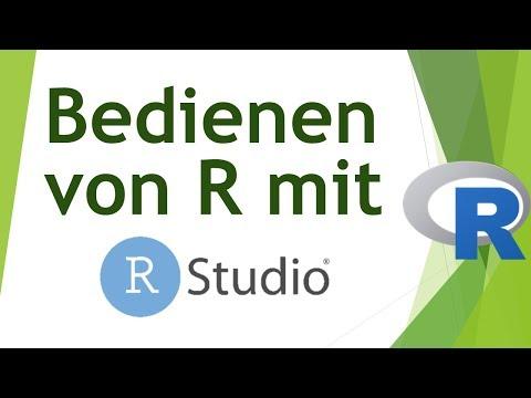 R mit RStudio - eine Einführung in die Bedienung von RStudio