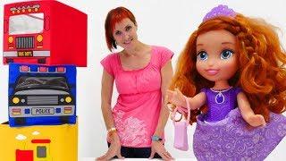 Барби и София в салоне красоты - Полный порядок Капуки